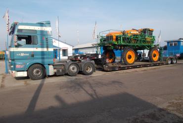 Перевозка тракторов и другой техники