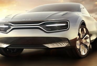 Kia начнёт серийный выпуск футуристического электрокара Imagine в 2021 году