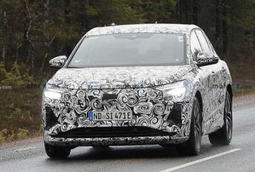 Версию Audi Q4 E-Tron зафиксировали на тестах в Швеции