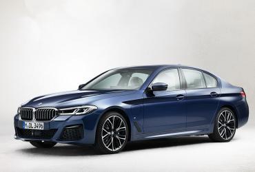 Внешность обновленной BMW 5-Series раскрыли до премьеры