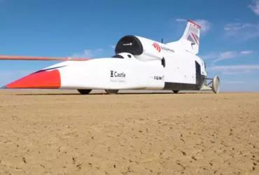 Дрэг-рейсинг на скорости 1600 км/ч: «ракета» против Bugatti Chiron и болида F1