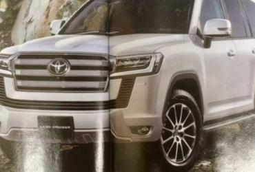 Появились новые подробности Toyota Land Cruiser нового поколения