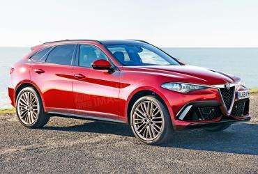 Большой кроссовер Alfa Romeo оснастят 400-сильным мотором