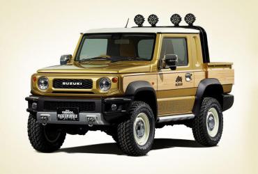 Новый Suzuki Jimny: теперь пикап и внедорожник для выживания в глуши