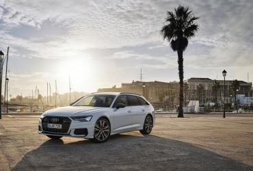 Универсал Audi A6 теперь можно заряжать от розетки